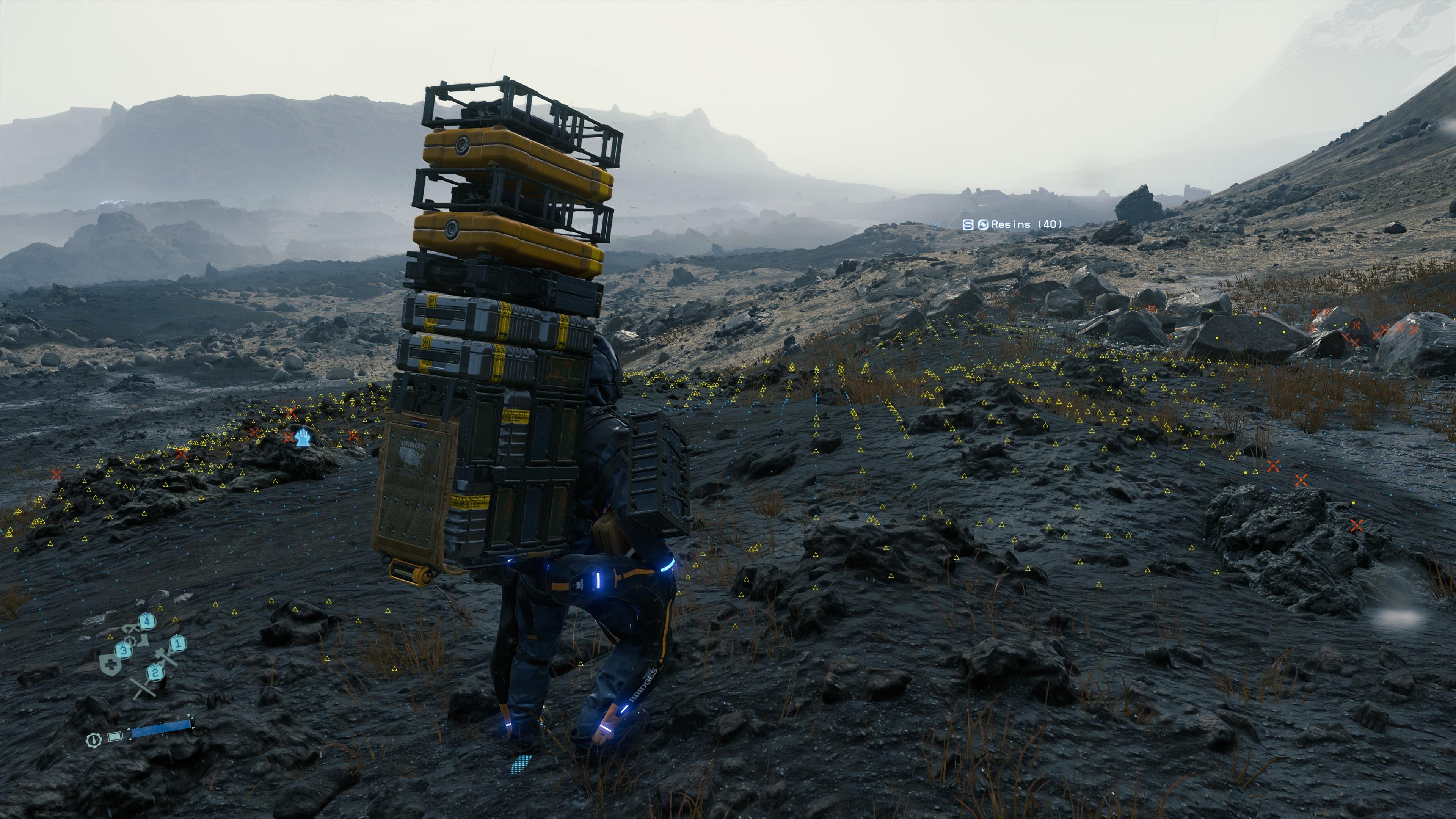 death stranding cargo