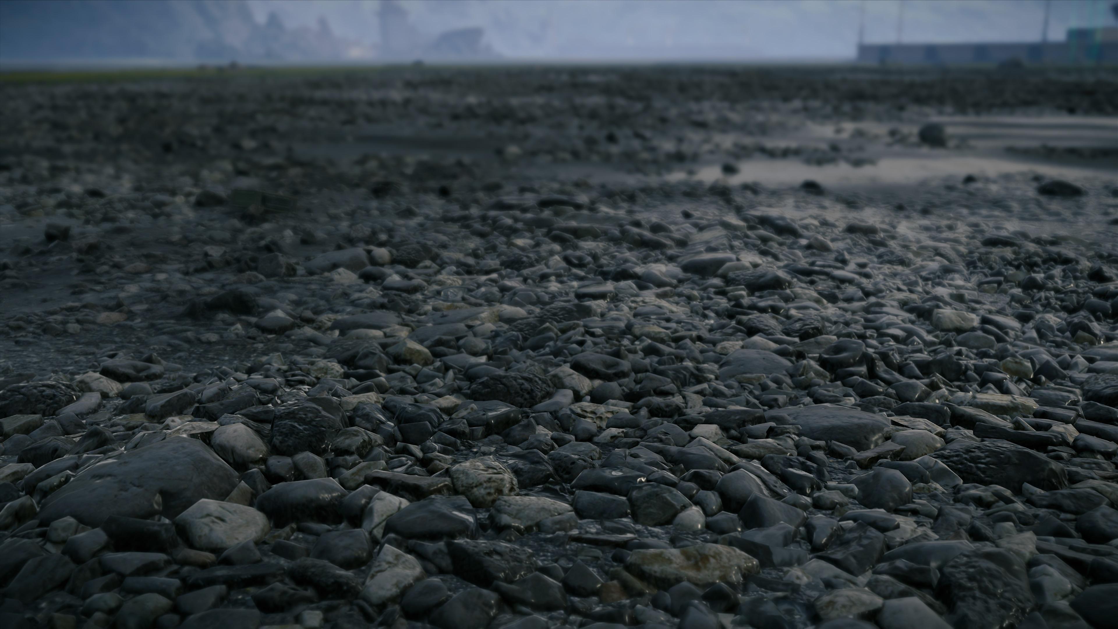 death stranding rocks