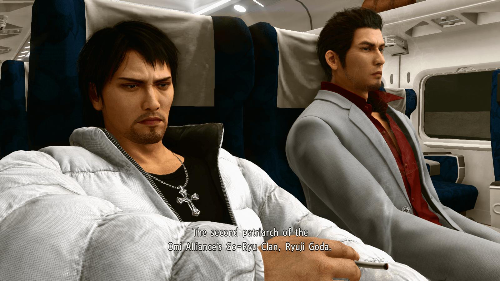 Yakuza Kiwami 2 Train Ride