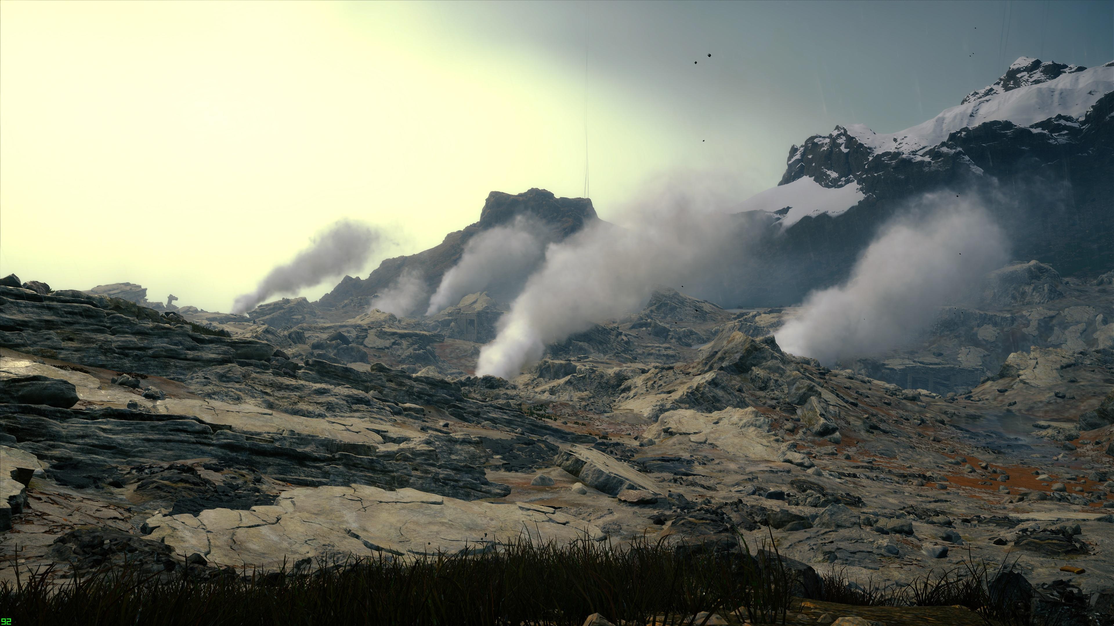 death stranding volcanos