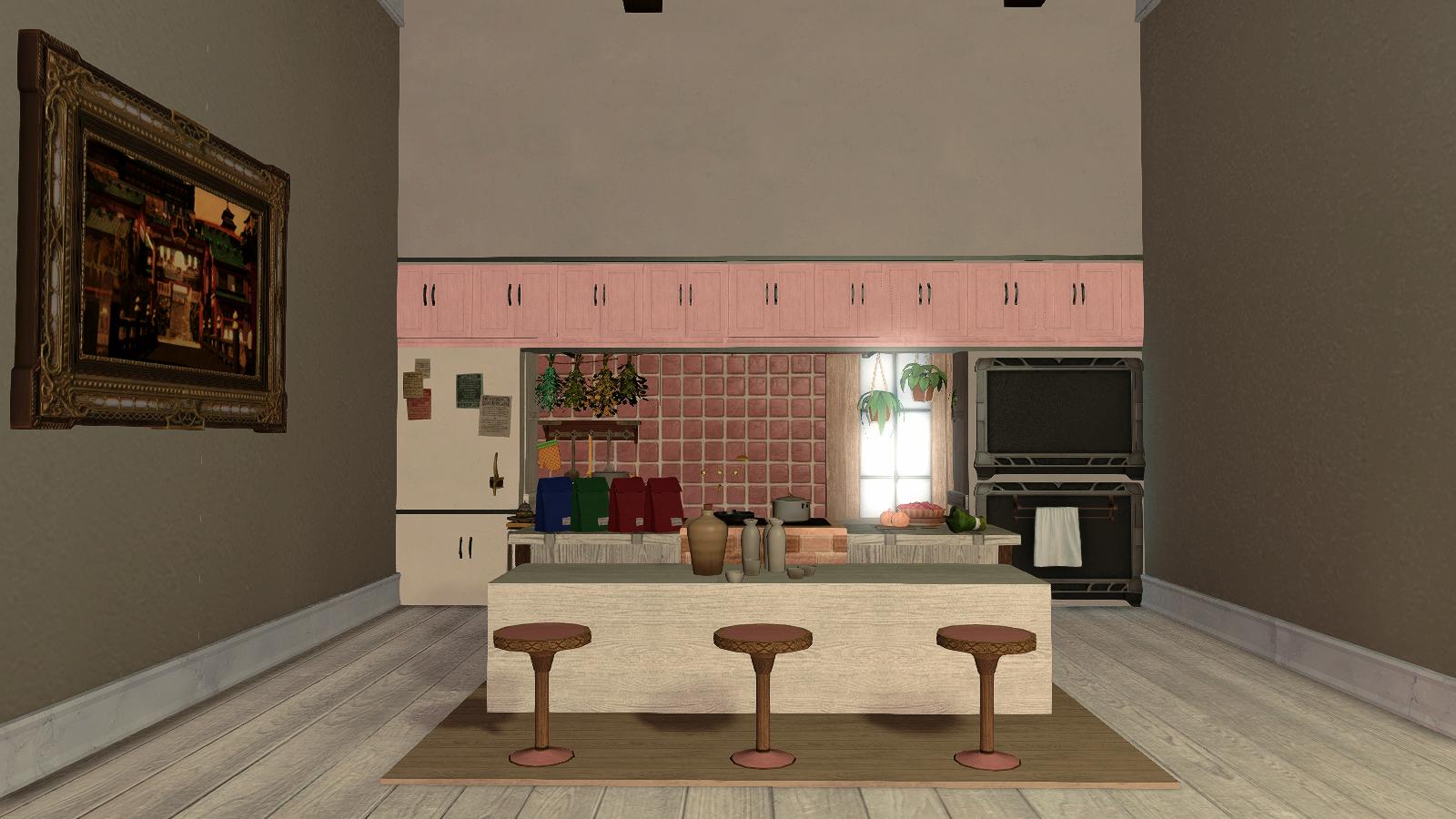 Final Fantasy Xiv Housing Showcase Hingan Kitchen Mmorpg Com