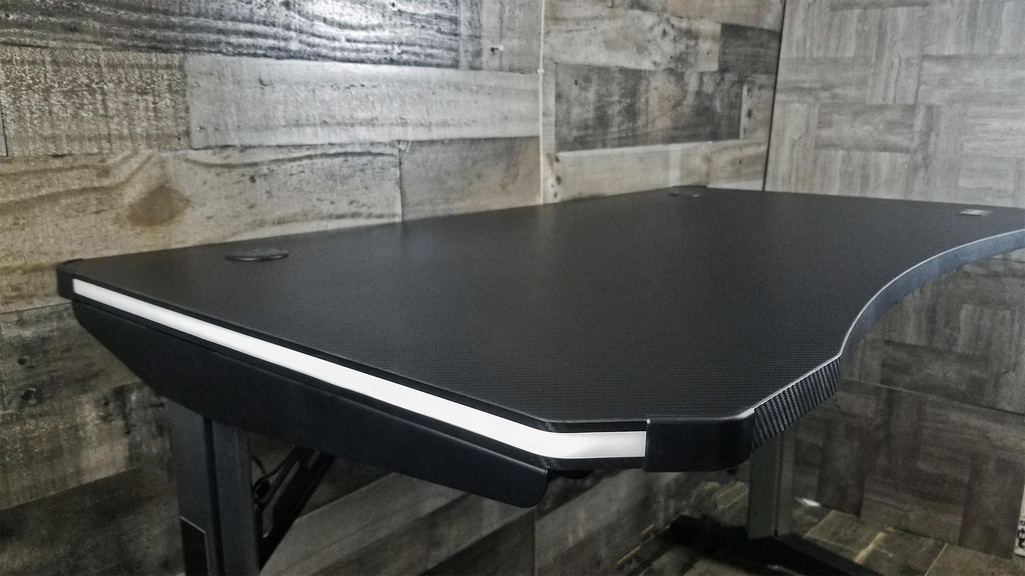 Desk, unlit