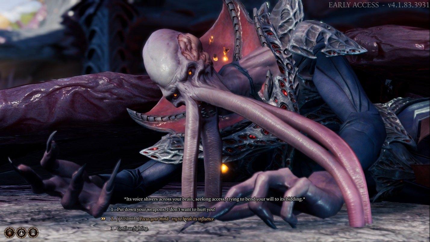 Baldur's Gate 3 Mind Flayer