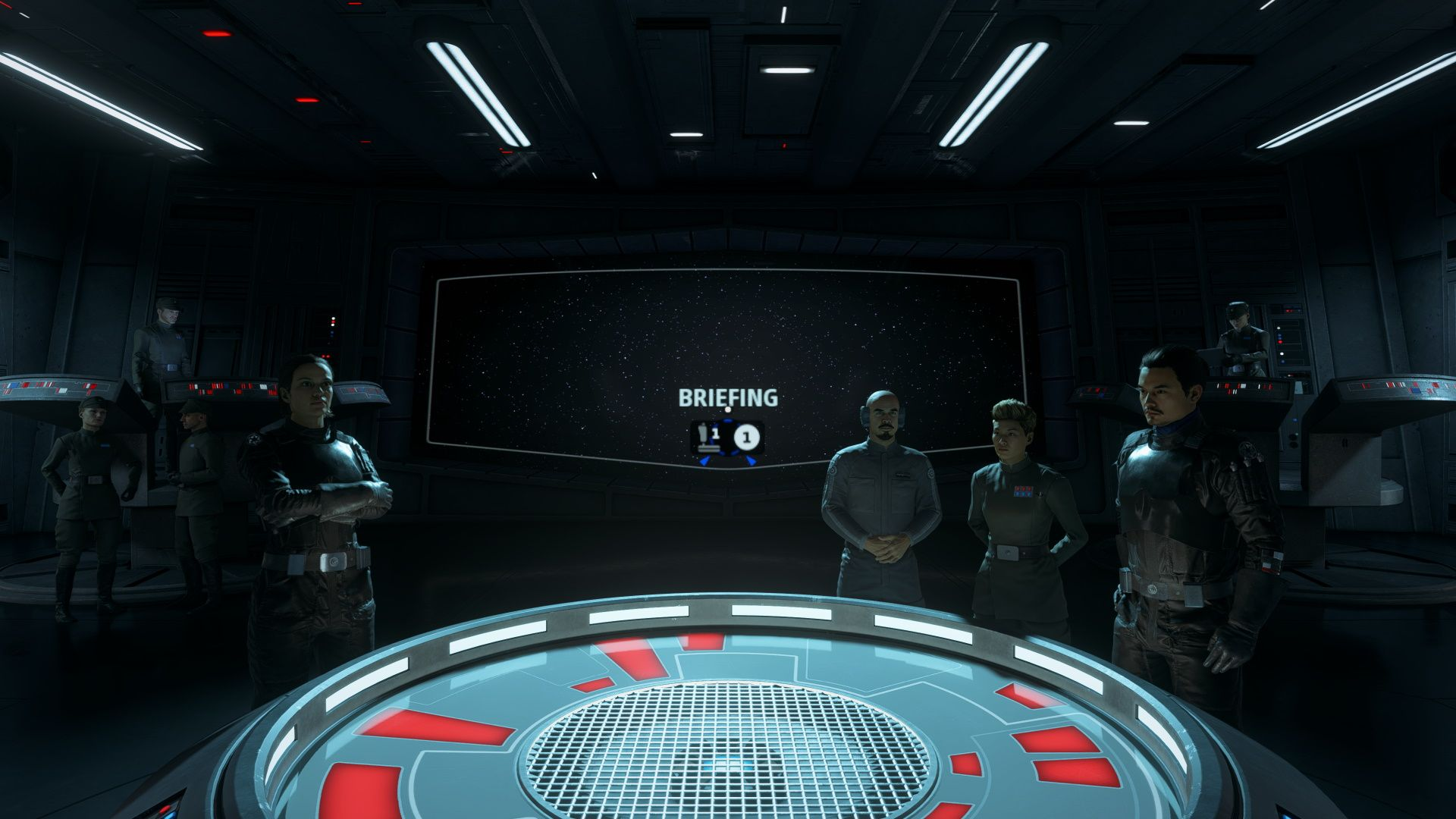 Star Wars Squadrons Imperial Briefing