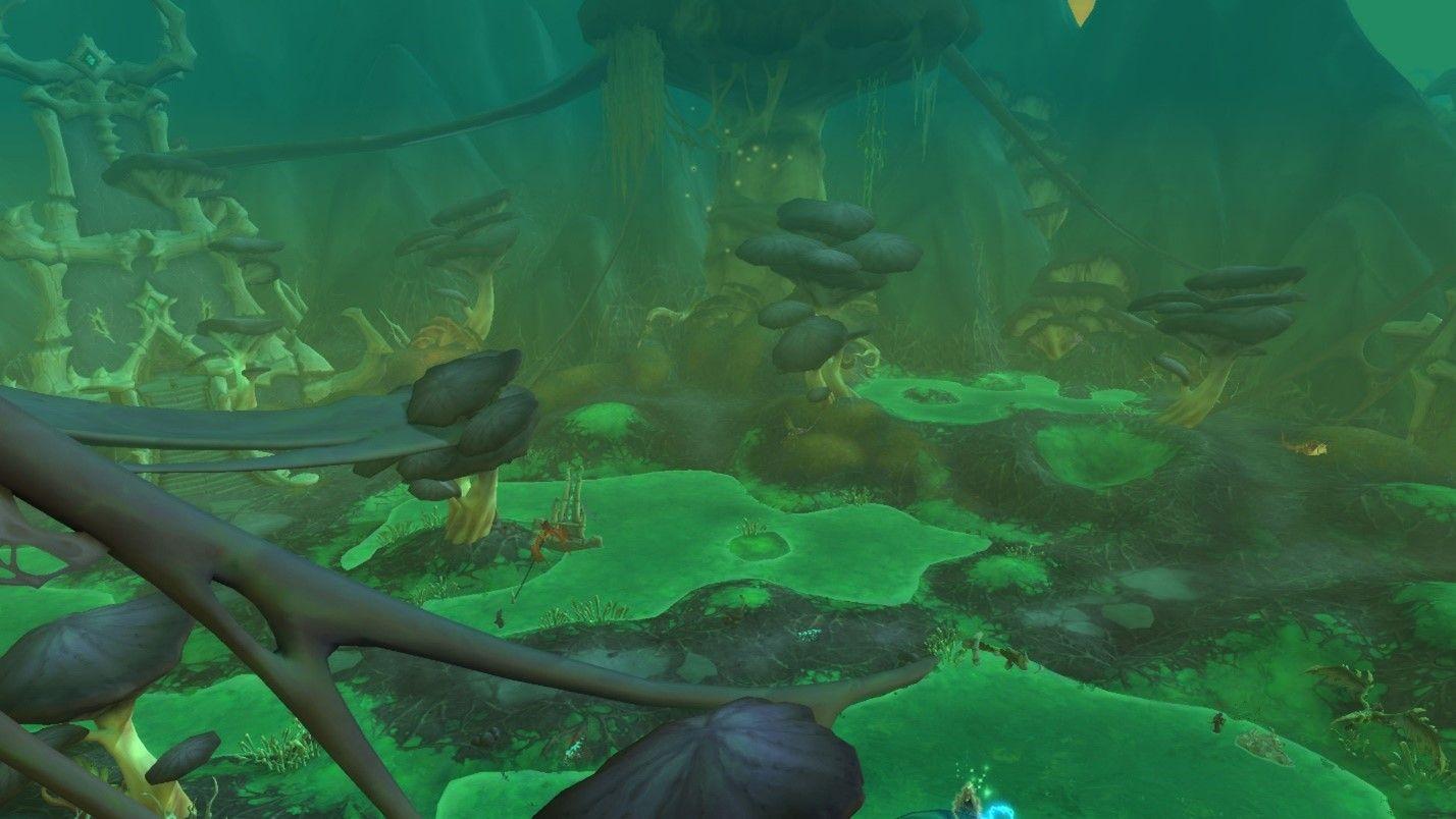 World of Warcraft: Shadowlands Swamp