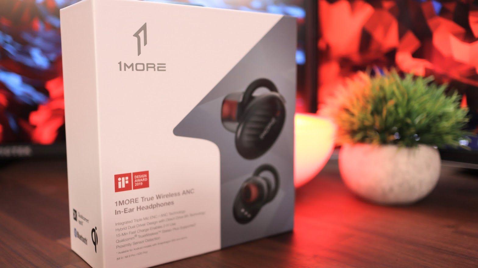 1 paquete de auriculares internos True Wireless ANC MÁS