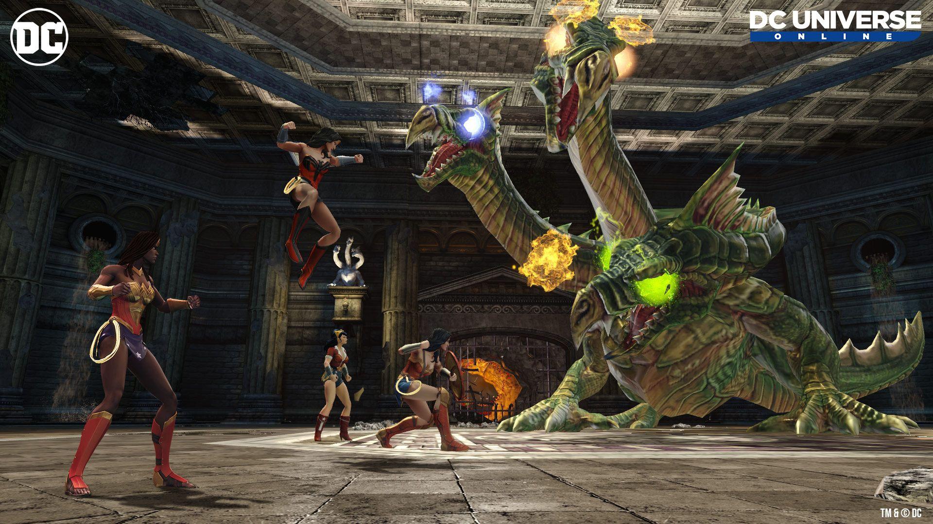 DCUO Hydra Fight