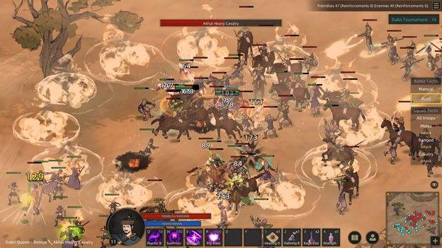 Sands of Salzaar Combat