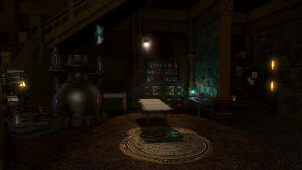 FFXIV Haunted Asylum Dungeon