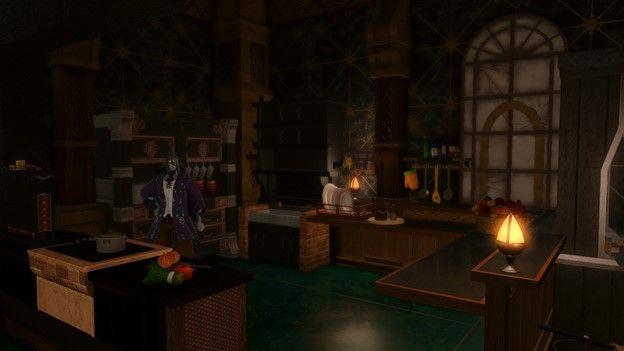 FFXIV Haunted Asylum Kitchen