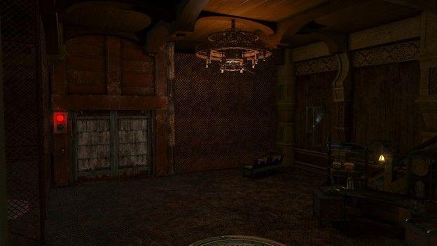 FFXIV Haunted Asylum Viewing Room