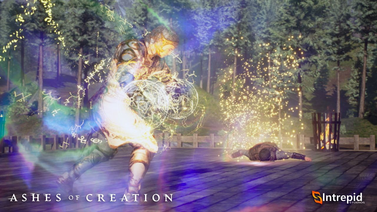 Ashes of Creation Cleric Archtype Combat