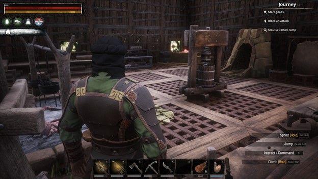 Conan Exiles Crafting Building