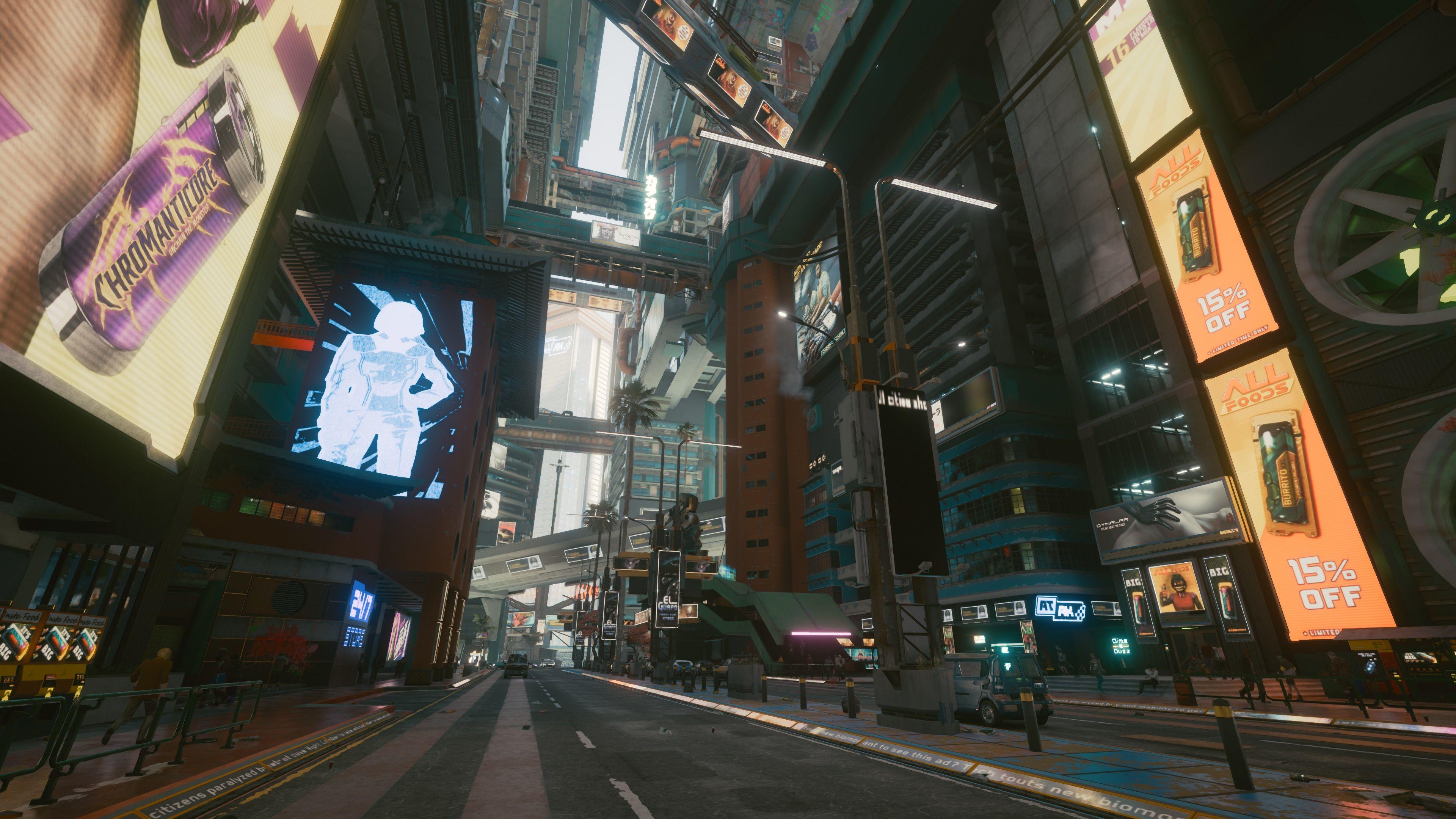 cyberpunk 2077 buildings