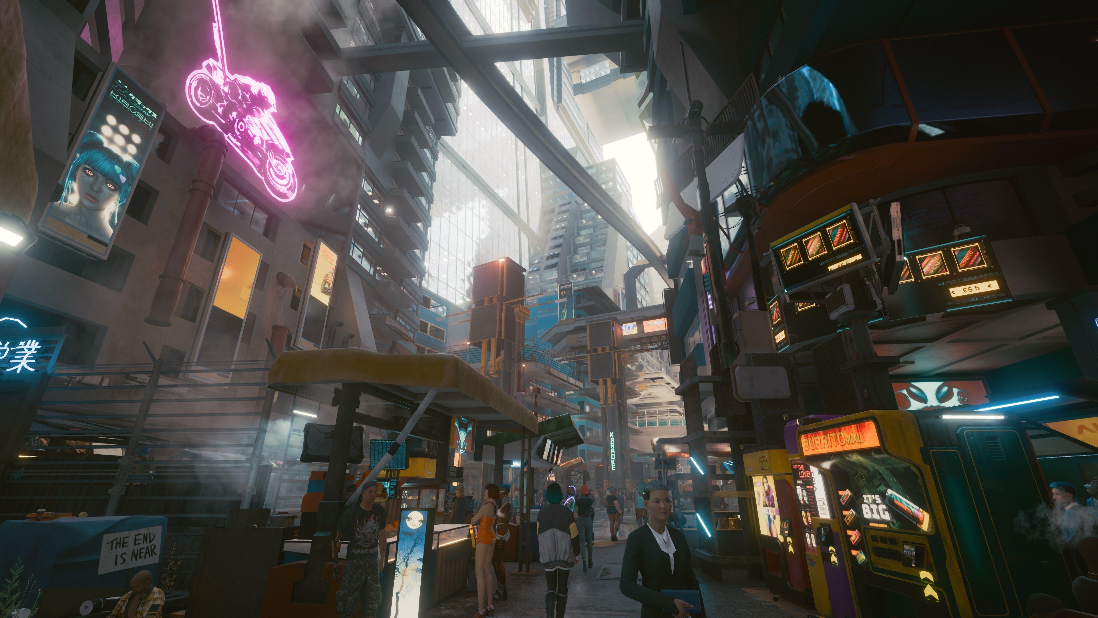 cyberpunk 2077 layered market