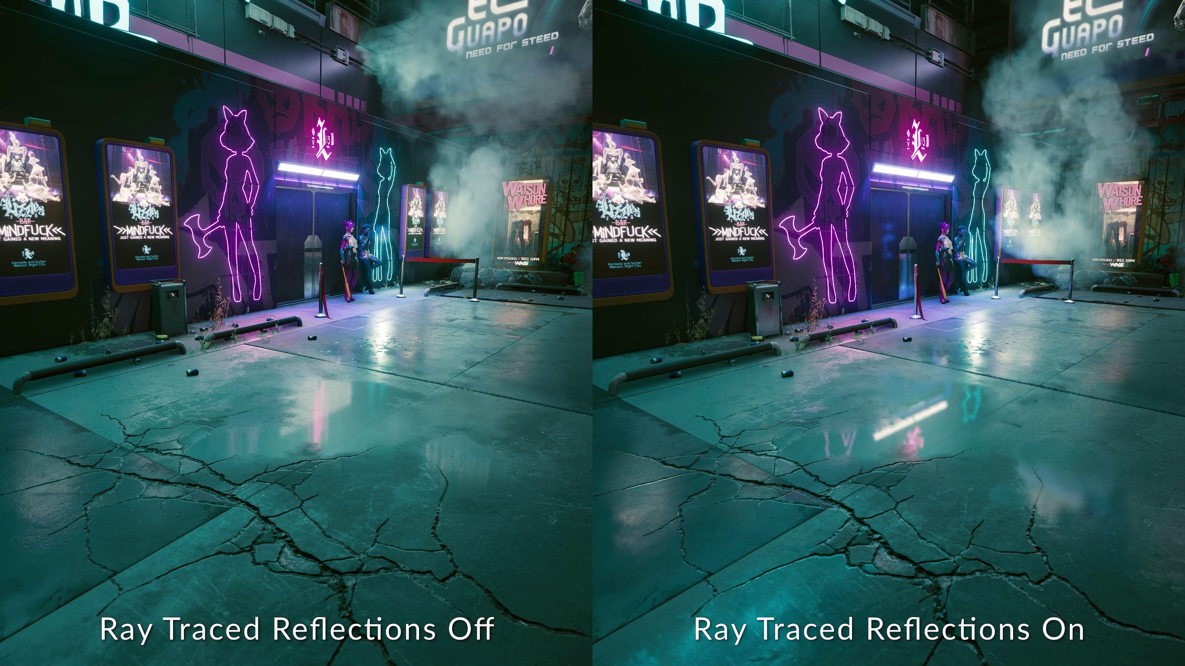 cyberpunk 2077 reflections