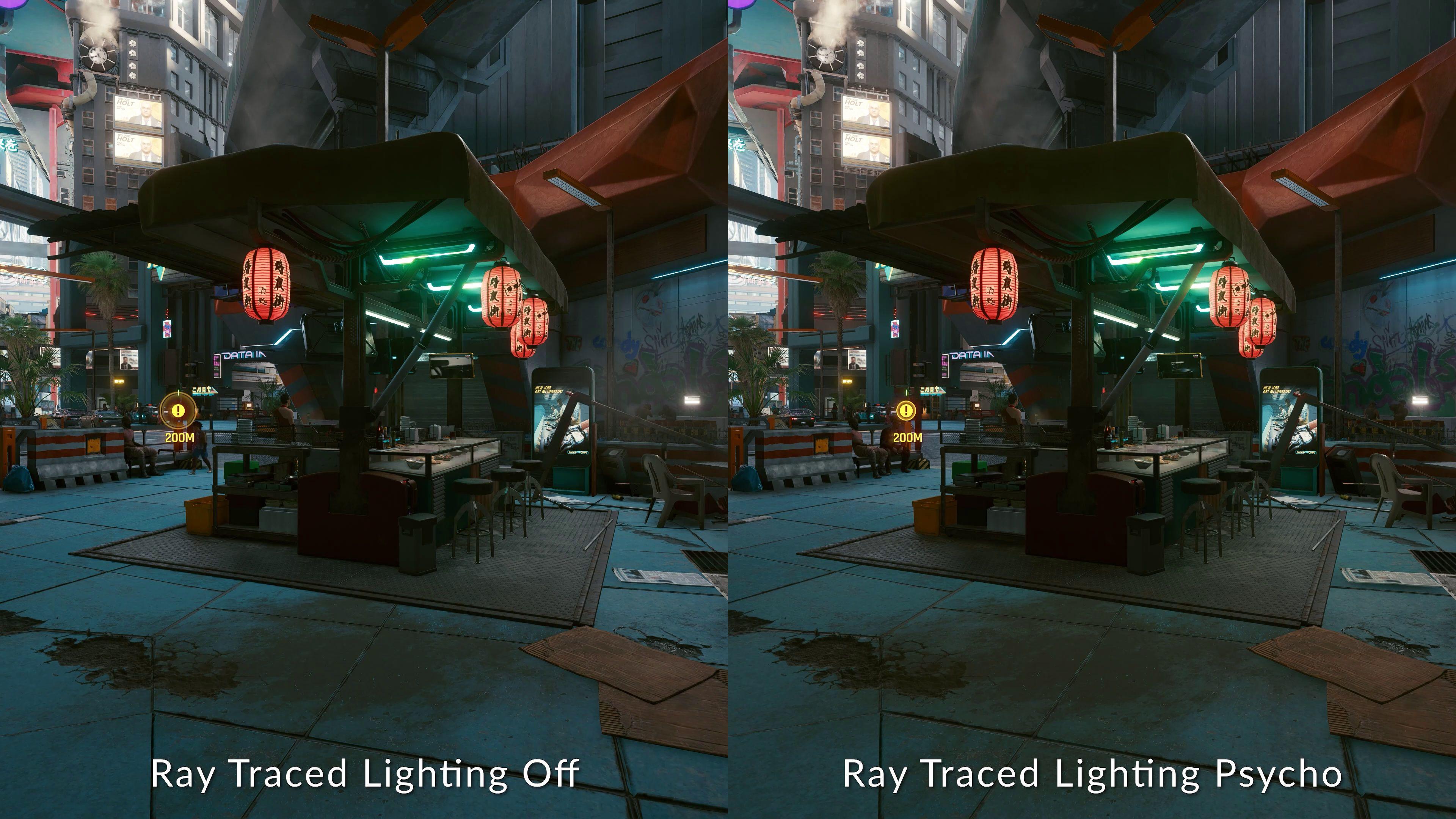 cyberpunk 2077 sky lighting