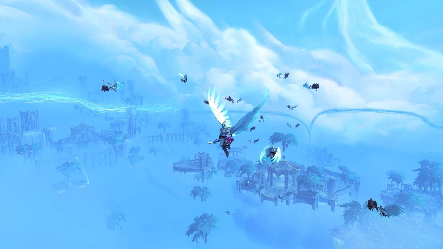 world of warcraft sky