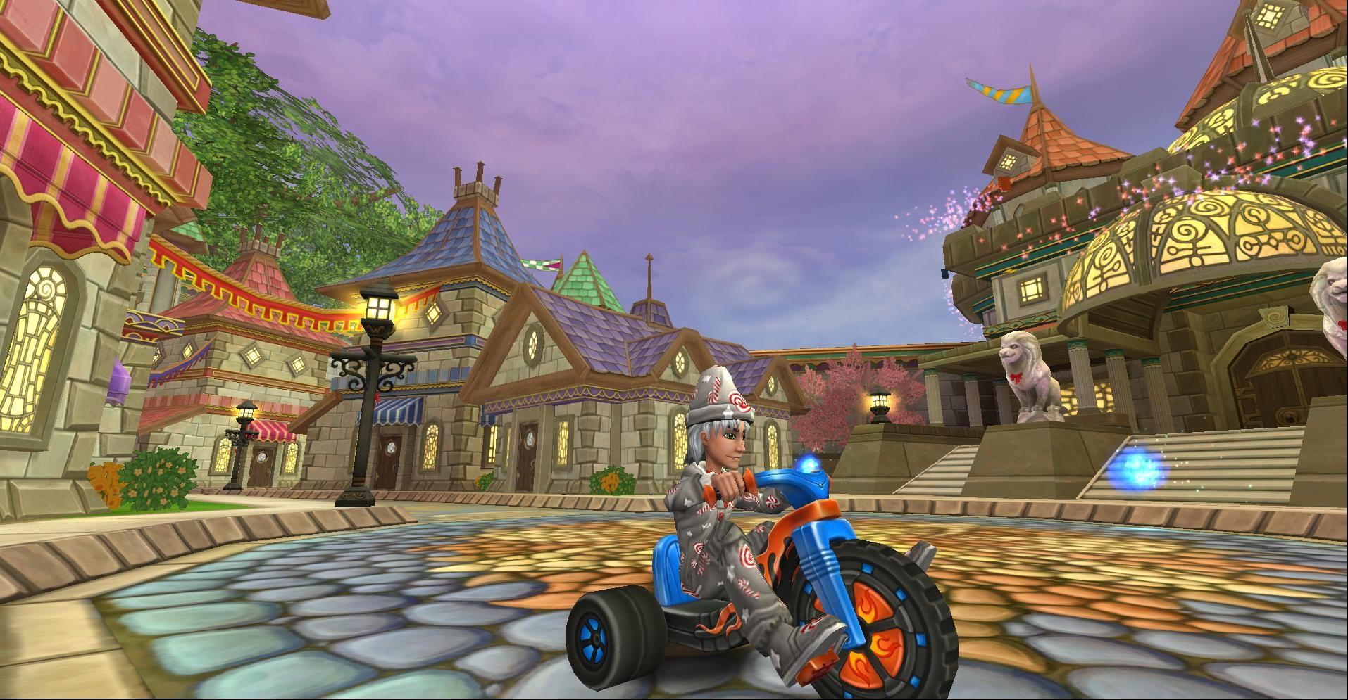 wizard101 bike