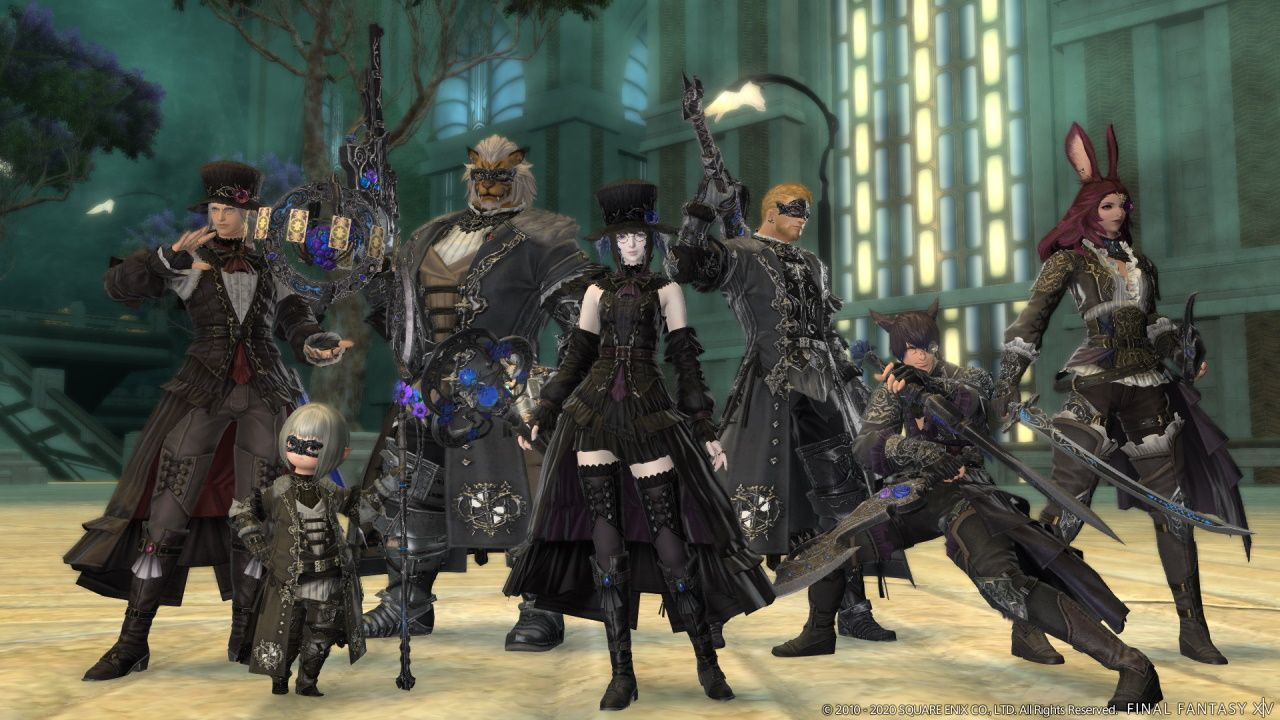 FFXIV Glamour costumes