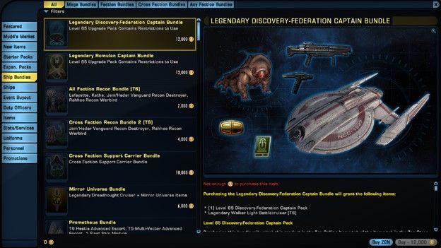 Star Trek Online Shop