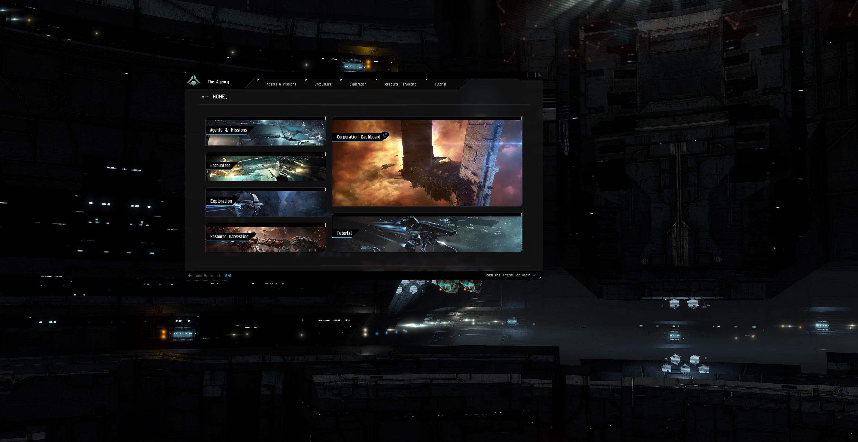 EVE Online The Agency