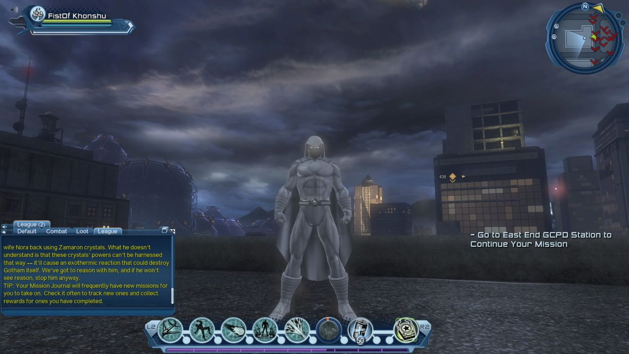 DCUO Moon Knight Character Creator