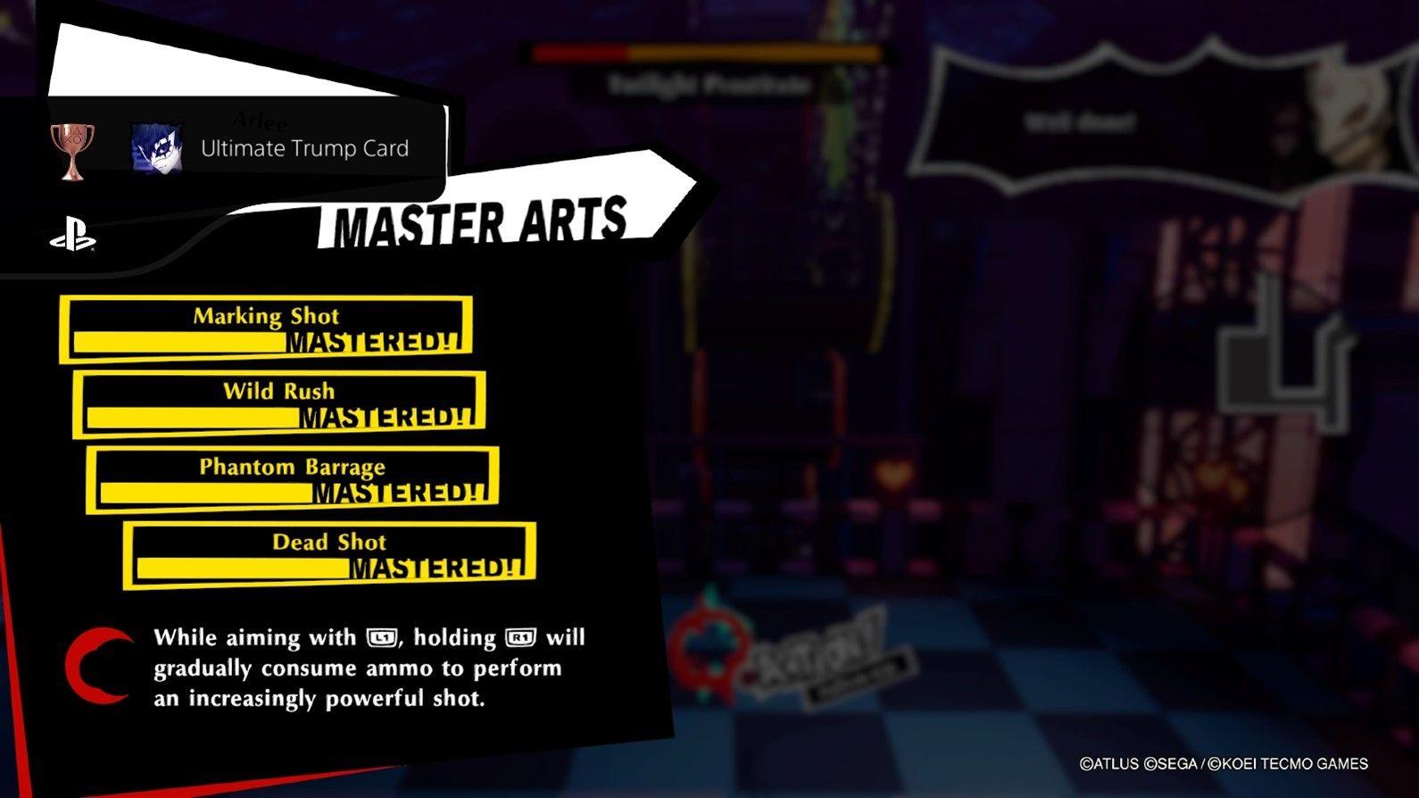 Persona 5 Strikers Мастер искусств
