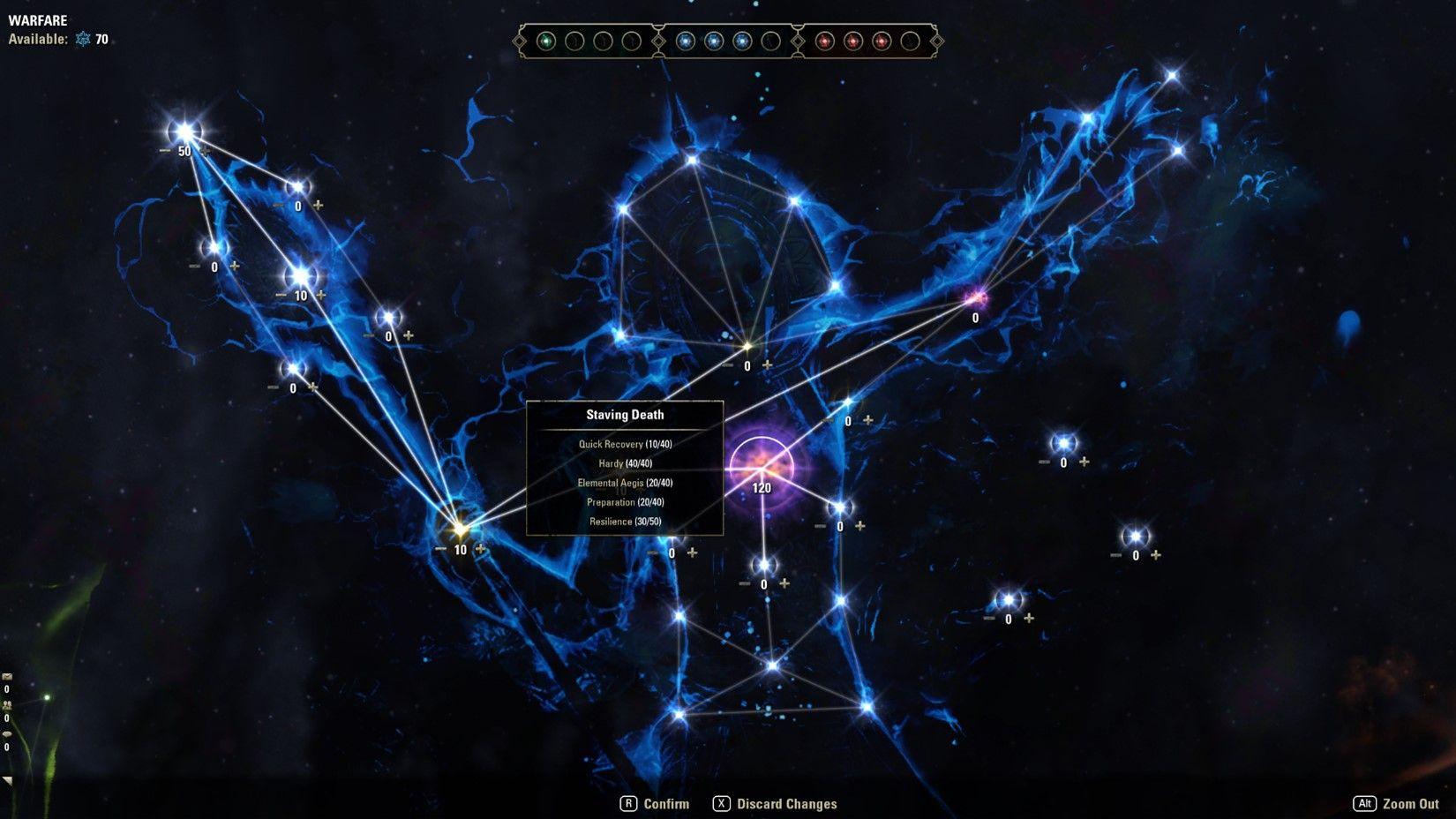 ESO Champion Point 2.0 Blue Constellation