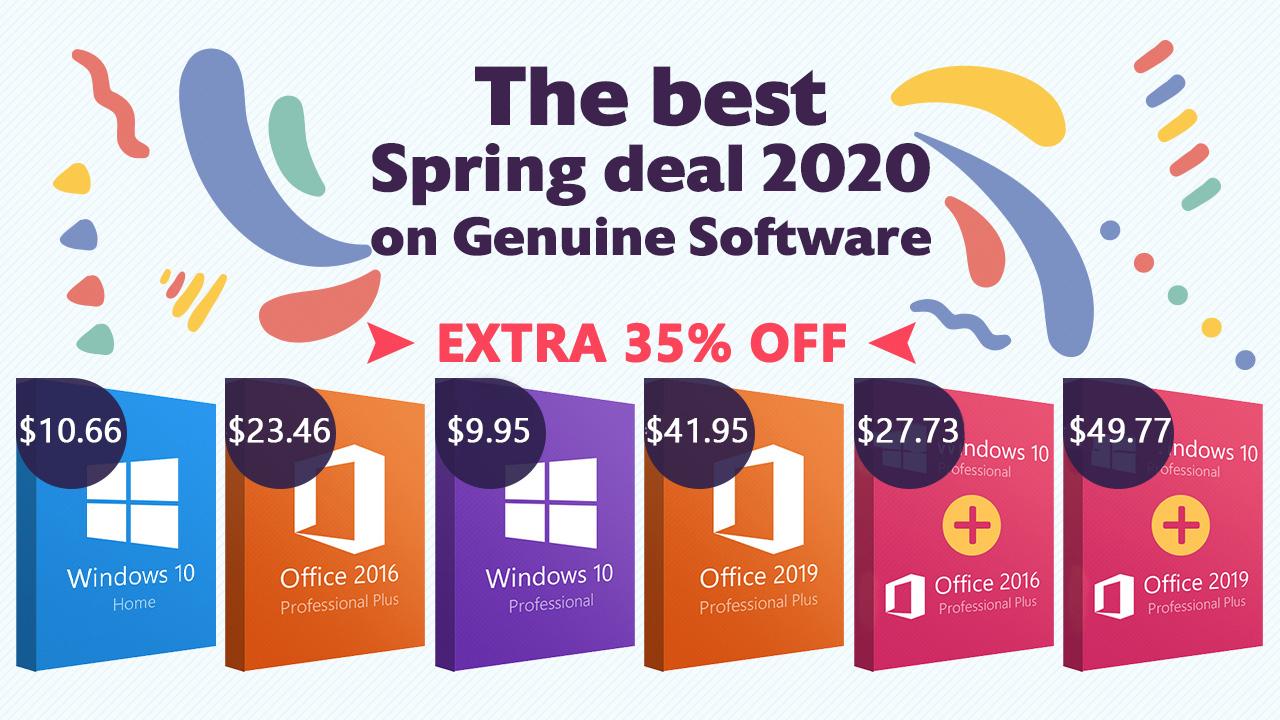Keysworlds Spring Deal 2020