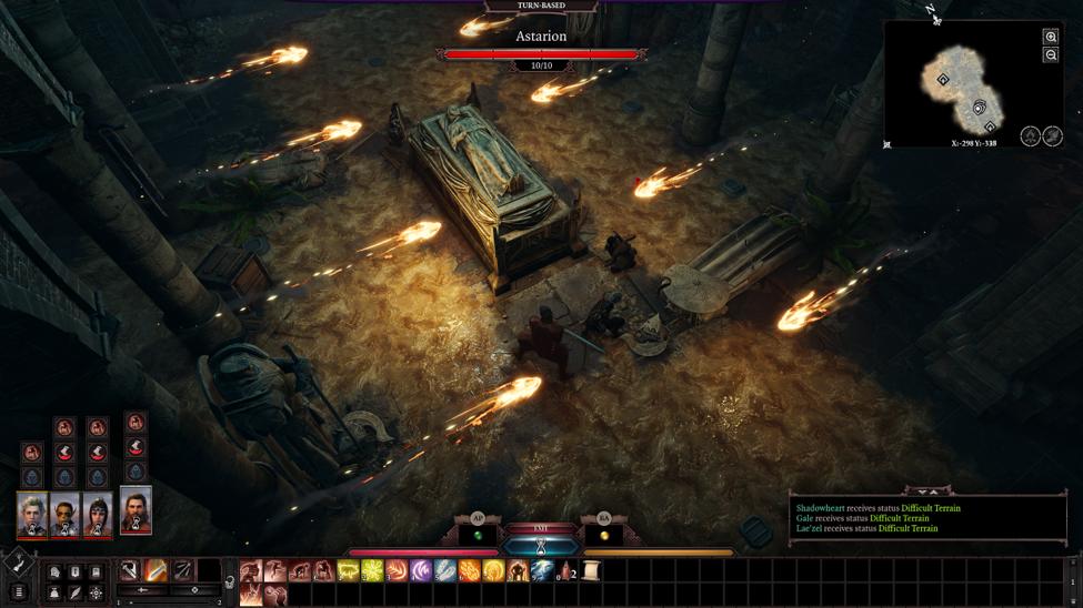 Dodging traps in Baldur's Gate 3