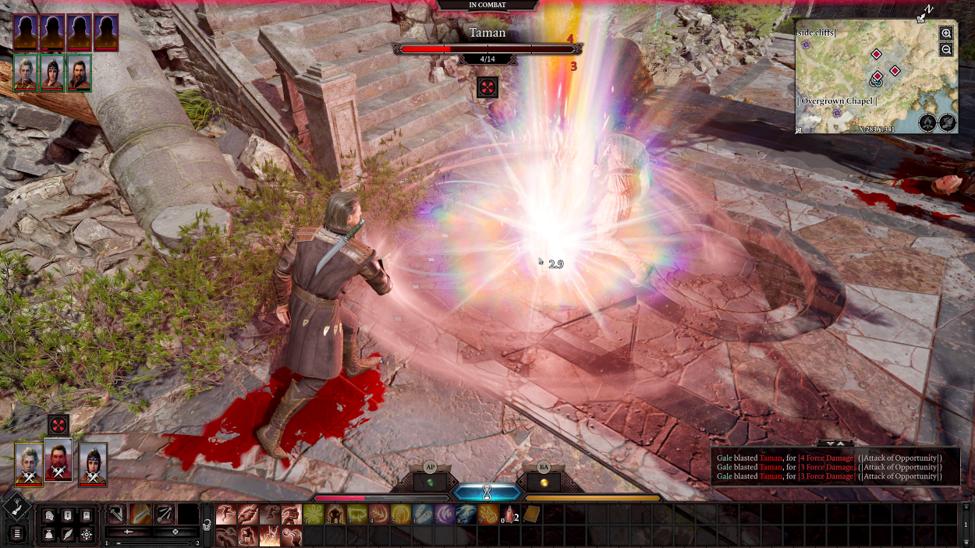 Combat in Baldur's Gate 3