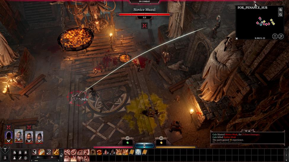 Positioning is key in Baldur's Gate 3