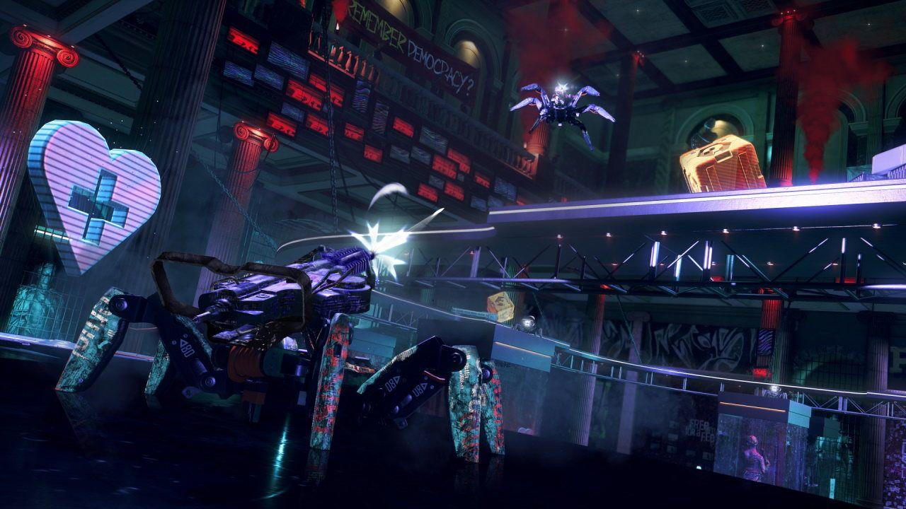 Spiderbot Arena Watch Dogs Legion