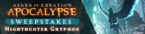 Enter For a Chance To A Nighthawk Gryphon For Ashes of Creation Apocalypse!