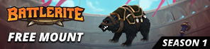 Get A Free Armored Black Bear Mount For Battlerite!