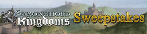 Enter For a Chance To Win A Gift Package For Stronghold Kingdoms!