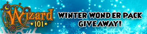 Get a Winter Wonder 2017 Gift For Wizard101!