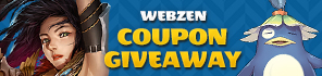 Get Free Summer Gifts for Webzen Games!