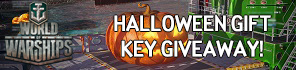 Get a Halloween Gift Key For World of Warships!