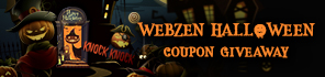 Get Free Halloween Gifts for Webzen Games!