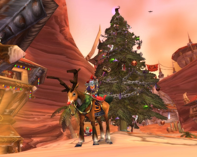 christmas in orgrimmar world of warcraft - World Of Warcraft Christmas