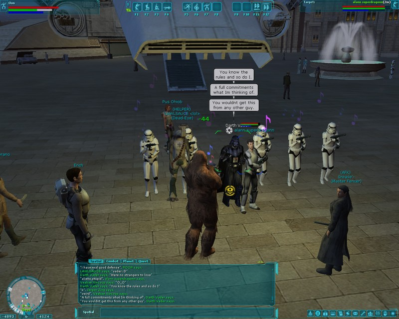 swgemu darth vader mmorpg com star wars galaxies galleries