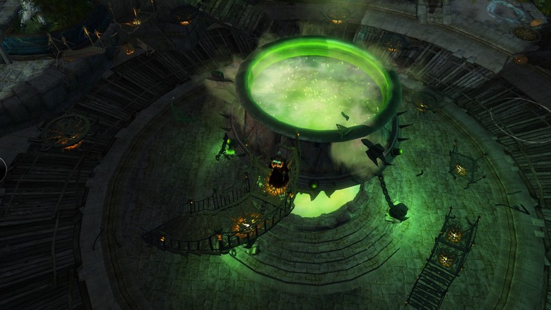 Giant Halloween pot in Lions Arch - MMORPG.com Guild Wars 2 Galleries