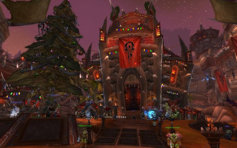christmas orgrimmar world of warcraft - World Of Warcraft Christmas