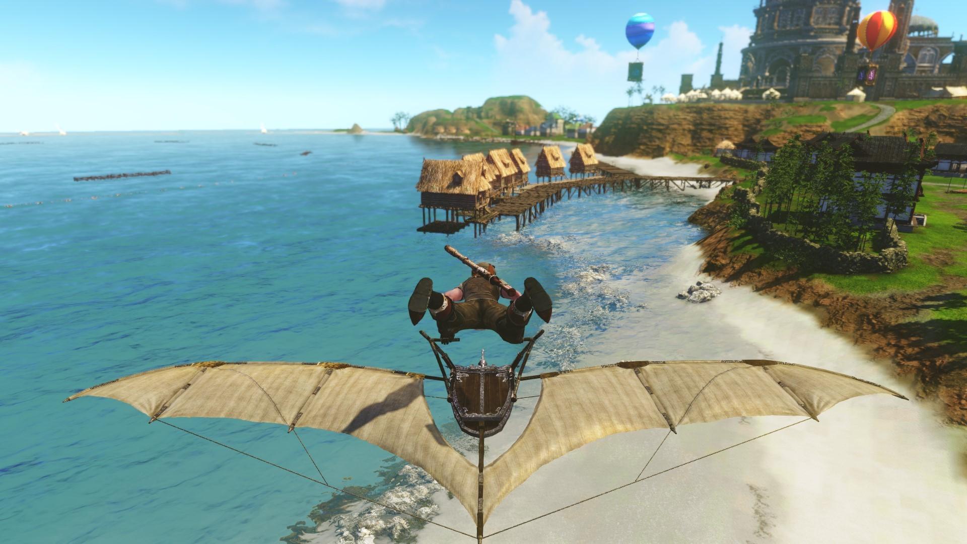 Mirage Isle Gliding - MMORPG com ArcheAge Galleries