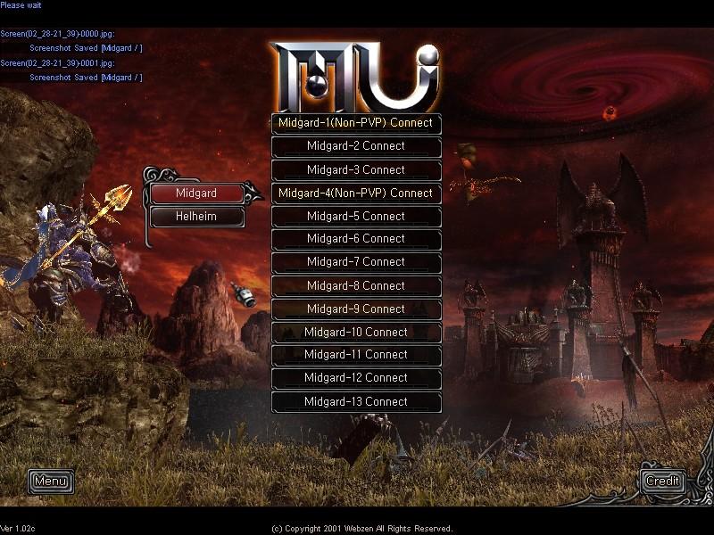 global mu online servers offline - MMORPG com MU Online