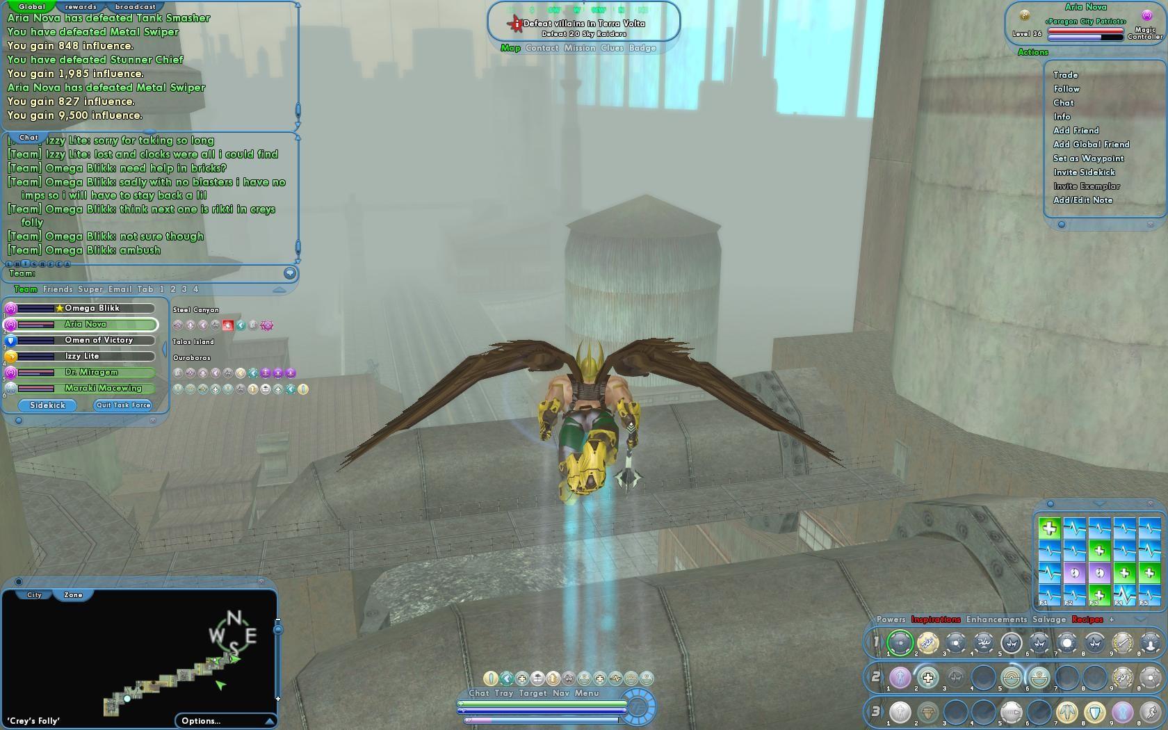 Portal Aoc Terra : Defeat villains in terra volta mmorpg.com city of heroes galleries