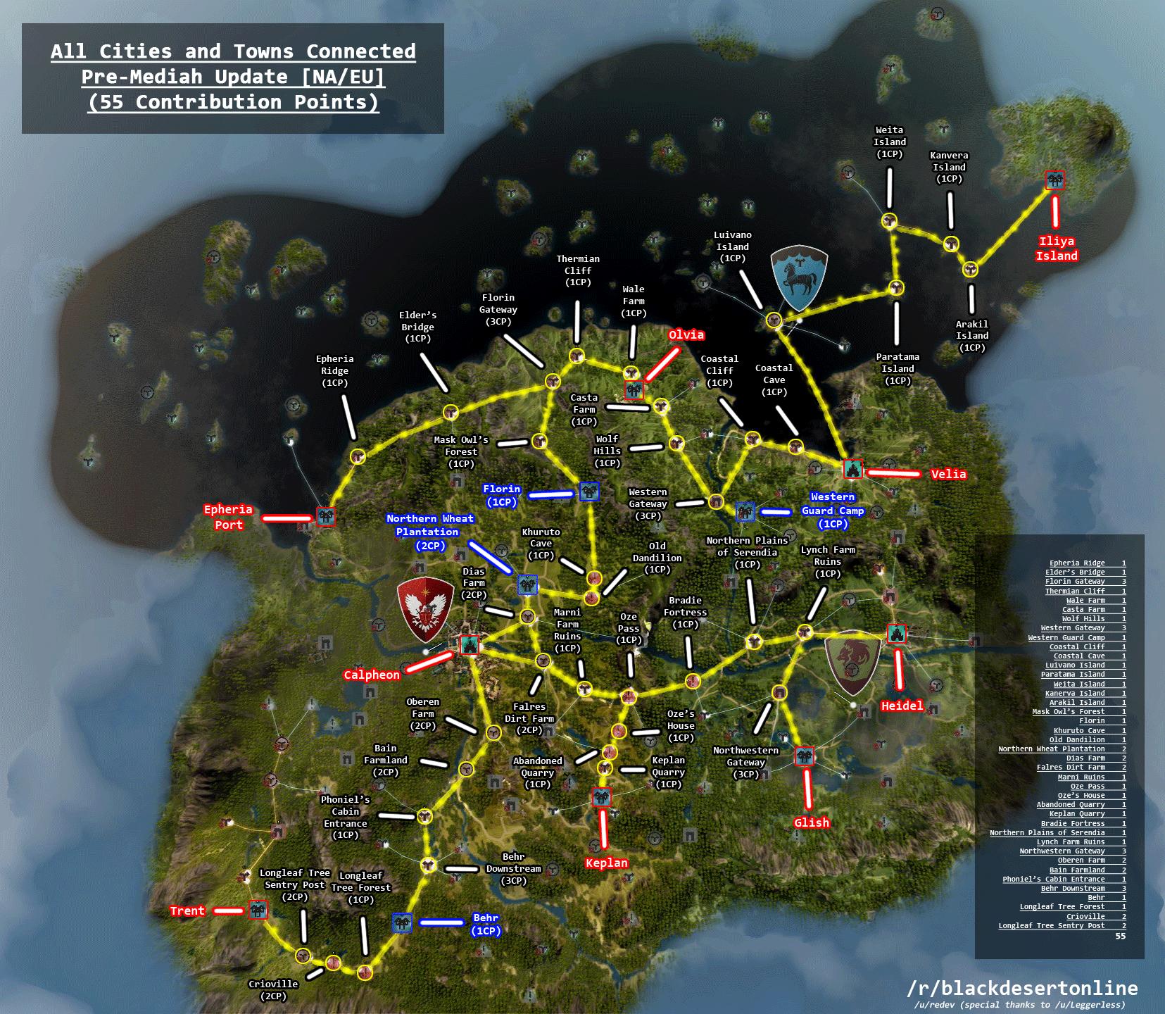 Map! - MMORPG.com Black Desert Online Galleries