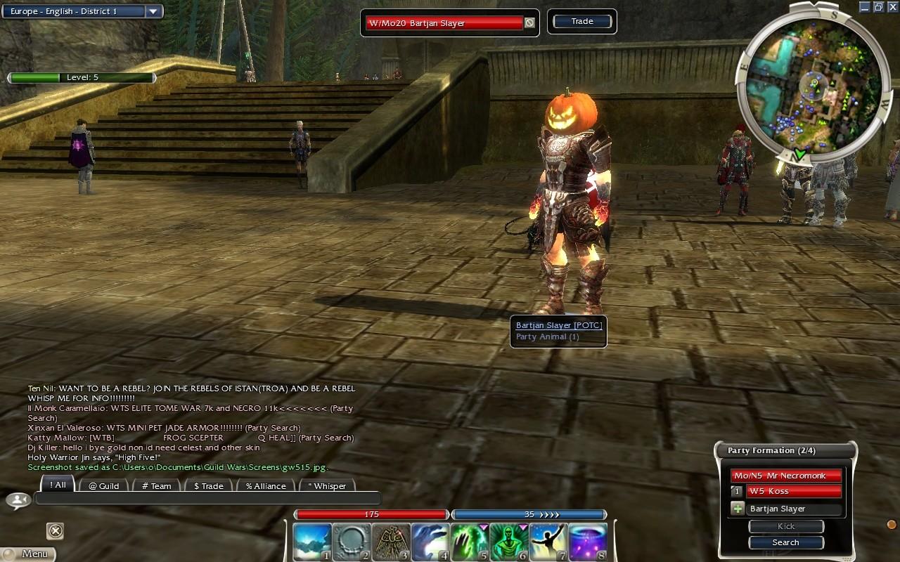 MMORPG com Guild Wars Nightfall Galleries